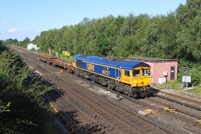 66757 Worting Junction 29/07/19 6Y48 Eastleigh to Hoo Junction