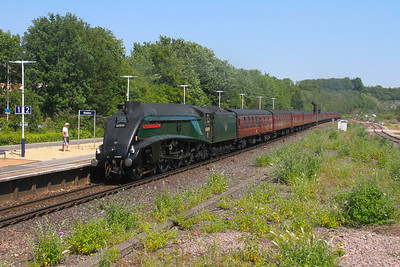 60009 Micheldever 25/07/19 1Z82 London Victoria to Weymouth with 47802 on the rear