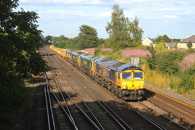 66757 Worting Junction 29/07/19 6Y42 Hoo Junction to Eastleigh with 66511, 66559 and 66850