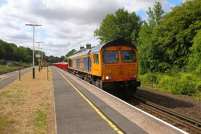 66761 Micheldever 28/07/19 6G14 Eastleigh to Feltham