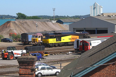 60026 Eastleigh 24/07/19 with 57312