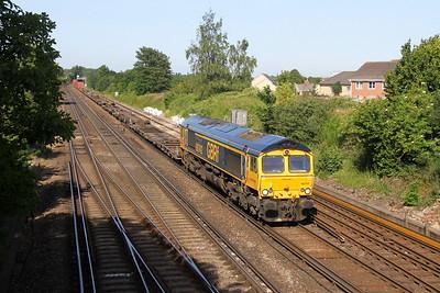 66742 Worting Junction 27/06/19 4O69 Hams Hall to Southampton Western Docks
