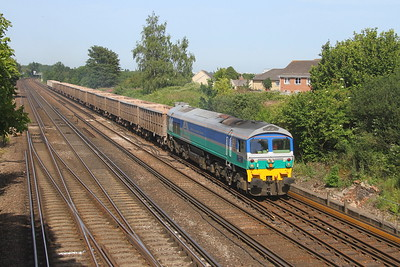 59002 Worting Junction 28/06/19 7V12 Woking to Merehead