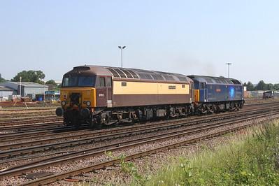 57312 Eastleigh 26/06/19 0O86 Leicester to Bournemouth