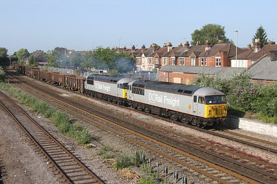 56103 Eastleigh 27/06/19 6Z90 Southampton Up Yard to Westbury with 56091