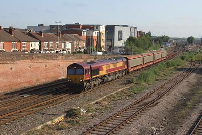66147 Eastleigh 27/06/19 6B48 Eastleigh Works to Southampton Eastern Docks