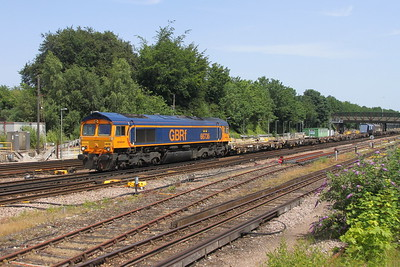 66736 Basingstoke 28/06/19 6Y68 Tonbridge to Eastleigh