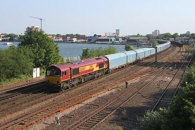 66069 St Deny's 26/06/19 4V39 Southampton Eastern Docks to Morris Cowley