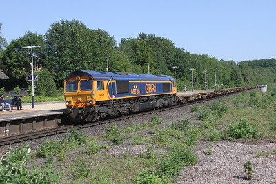 66736 Micheldever 27/06/19 6O45 Bicester to Marchwood