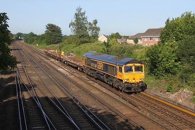 66716 Worting Junction 27/06/19 6Y42 Hoo Junction to Eastleigh