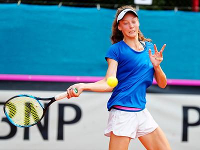 01.02d Darja Vidmanova - Czech Republic - Junior fed cup european final round girls 16 years and under 2019