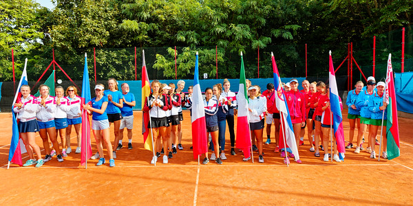01.03a All teams - Junior fed cup european final round girls 16 years and under 2019