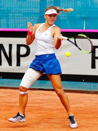 01.01b Oksana Selekhmeteva - Russia - Junior fed cup european final round girls 16 years and under 2019