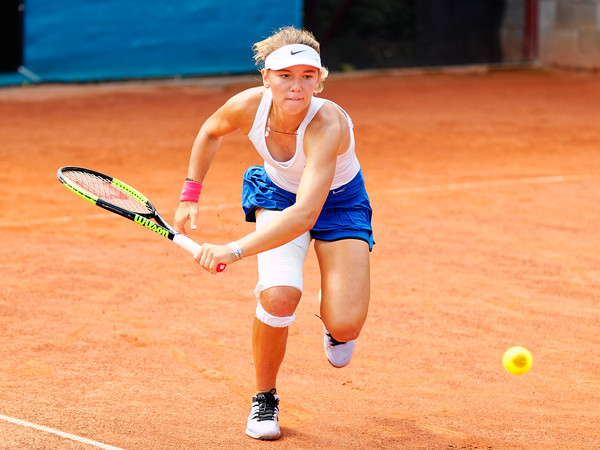01.01c Oksana Selekhmeteva - Russia - Junior fed cup european final round girls 16 years and under 2019