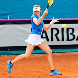 01.02a Linda Noskova - Czech Republic - Junior fed cup european final round girls 16 years and under 2019