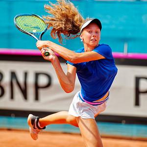 01.02f Darja Vidmanova - Czech Republic - Junior fed cup european final round girls 16 years and under 2019