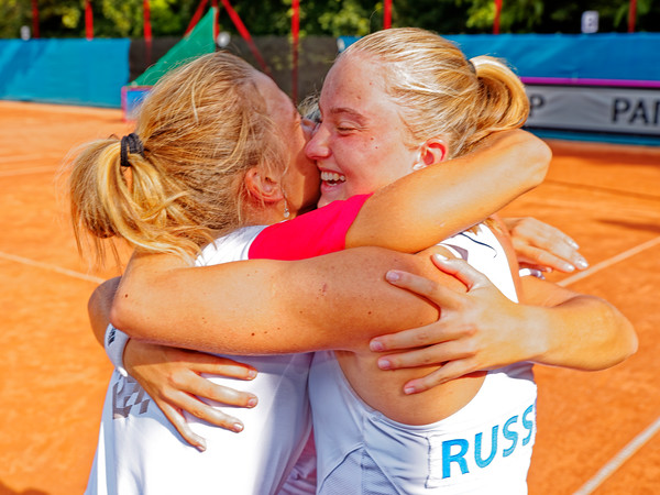 01.01k Yeah we won - Russia - Junior fed cup european final round girls 16 years and under 2019