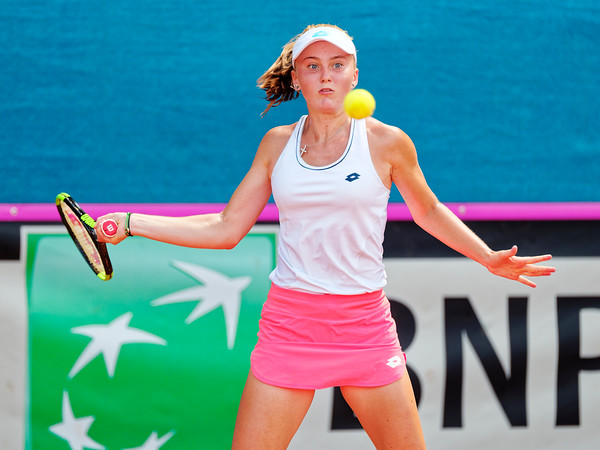01.01d Polina Kudermetova - Russia - Junior fed cup european final round girls 16 years and under 2019