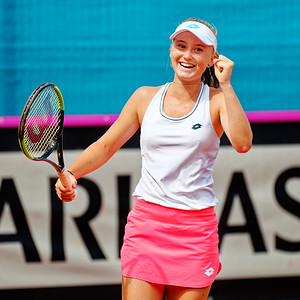 01.01h Polina Kudermetova - Russia - Junior fed cup european final round girls 16 years and under 2019