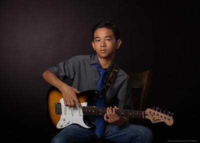 Guitar Portrait I-8