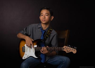 Guitar Portrait I-5