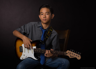 Guitar Portrait I-14