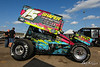 NOS Energy Drink Knoxville Nationals Presented By Casey's General Store - Knoxville Raceway - 15M Bobby Mincer