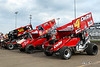 NOS Energy Drink Knoxville Nationals Presented By Casey's General Store - Knoxville Raceway - K4 Chad Kemenah, J4 John Garvin
