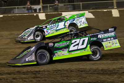 Jimmy Owens (20) and Tyler Erb (1)