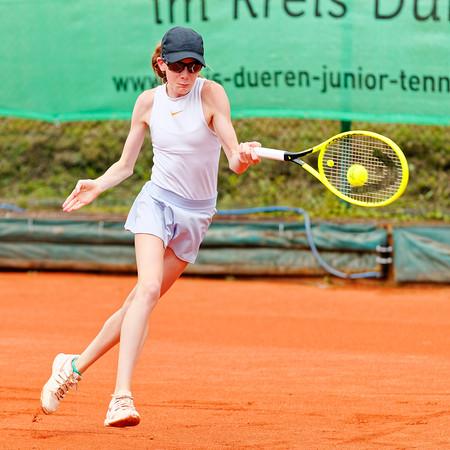 01c Kayla Cross - Kreis Düren Junior Tennis Cup 2019