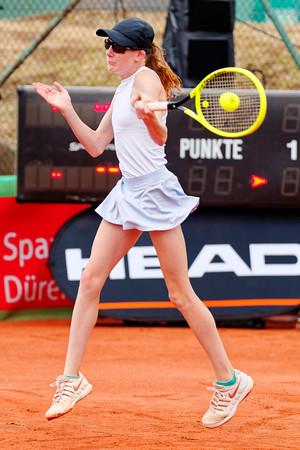 01b Kayla Cross - Kreis Düren Junior Tennis Cup 2019