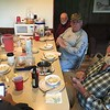 DENNIS, EMIL AND DARREL AT SUPPER TIME