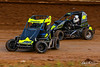 Hyper Racing 600 Speedweek Presented by 600cc Performance - Clyde Martin Memorial Speedway - 28 Austin Quick, 41x Cody Brison