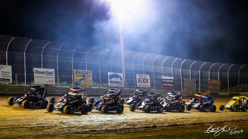 Pennsylvania Midget Week - NOS Energy Drink USAC National Midget Championship - Clyde Martin Memorial Speedway