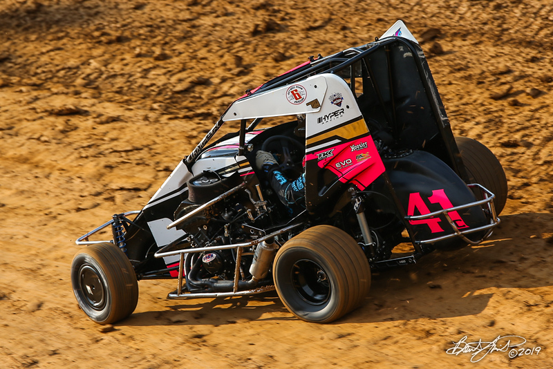 Hyper Racing 600 Speedweek Presented by 600cc Performance - Clyde Martin Memorial Speedway - 41c Brian Carber