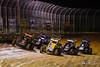 Pennsylvania Midget Week - NOS Energy Drink USAC National Midget Championship - Clyde Martin Memorial Speedway - 12 Steve Drevicki, 76m Jason McDougal