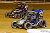 Pennsylvania Midget Week - NOS Energy Drink USAC National Midget Championship - Clyde Martin Memorial Speedway - 5 Kevin Thomas Jr., 39BC Zeb Wise