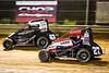Pennsylvania Midget Week - NOS Energy Drink USAC National Midget Championship - Clyde Martin Memorial Speedway - 47BC Andrew Layser, 27 Tucker Klaasmeyer
