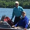 DOUG & DENNIS ON LEECH LAKE JUNE 2019 TRIP