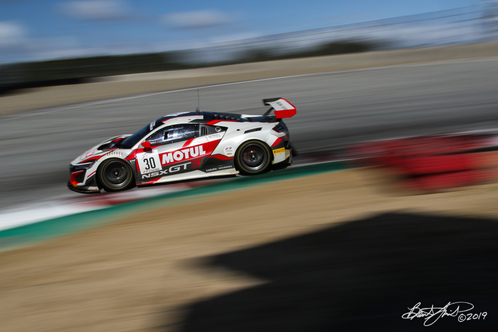 Intercontinental GT Challenge Powered by Pirelli - California 8 Hour - WeatherTech Raceway Laguna Seca - 30 Honda Team Motul Honda NSX GT3 Evo, Bertrand Baguette, Mario Farnbacher, Renger van der Zande