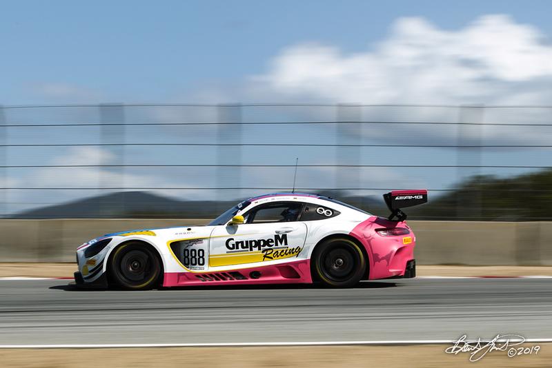 Intercontinental GT Challenge Powered by Pirelli - California 8 Hour - WeatherTech Raceway Laguna Seca - 888 Mercedes-AMG Team GruppeM Racing Mercedes-AMG GT3, Maro Engel, Yelmer Buurman, Luca Stolz