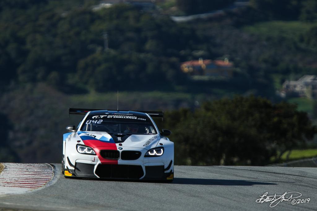 Intercontinental GT Challenge Powered by Pirelli - California 8 Hour - WeatherTech Raceway Laguna Seca - 42 BMW Team Schnitzer BMW M6 GT3, Augusto Farfus, Chaz Mostert, Martin Tomczyk