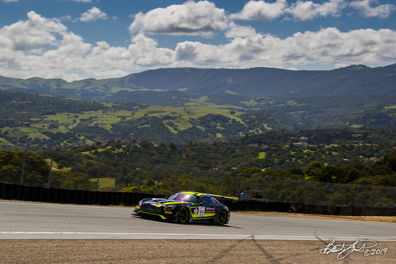 Intercontinental GT Challenge Powered by Pirelli - California 8 Hour - WeatherTech Raceway Laguna Seca - 44 Strakka Racing Mercedes-AMG GT3, Lewis Williamson, Gary Paffett, Tristan Vautier