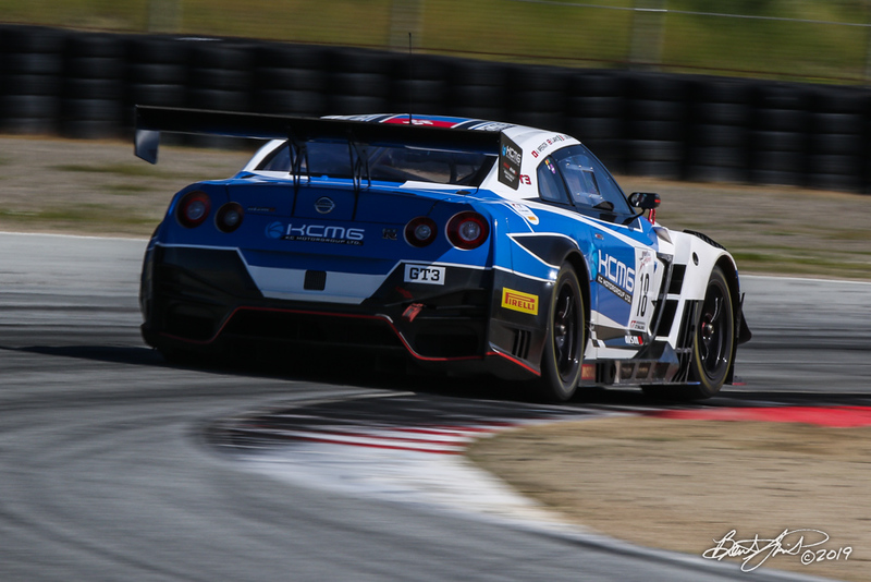 Intercontinental GT Challenge Powered by Pirelli - California 8 Hour - WeatherTech Raceway Laguna Seca - 18 KCMG Nissan GT-R NISMO GT3, Alexandre Imperatori, Oliver Jarvis, Edoardo Liberati