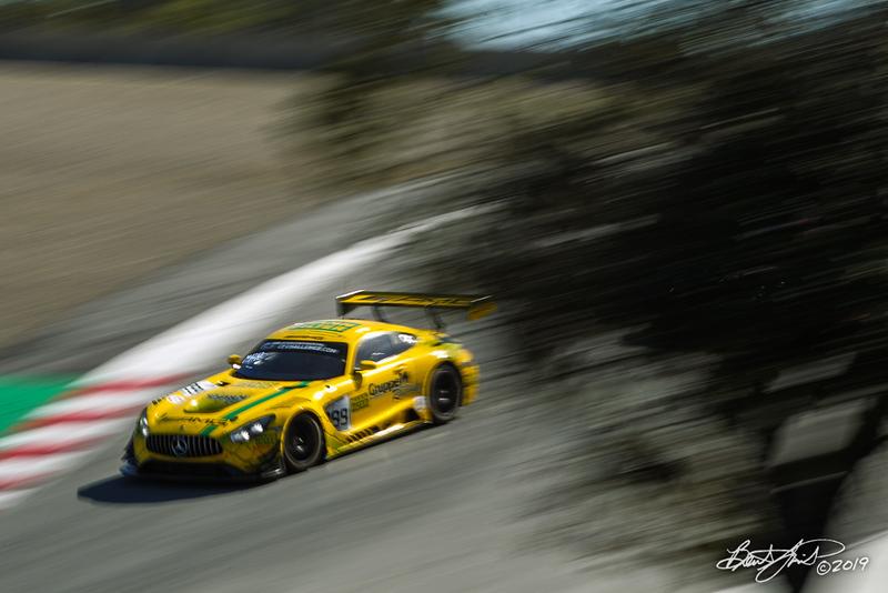 Intercontinental GT Challenge Powered by Pirelli - California 8 Hour - WeatherTech Raceway Laguna Seca - 999 Mercedes-AMG Team GruppeM Racing Mercedes-AMG GT3, Maxi Buhk, Maxi Goetz, Raffaele Marciello