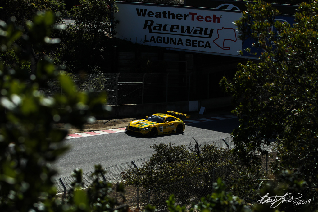 Intercontinental GT Challenge Powered by Pirelli - California 8 Hour - WeatherTech Raceway Laguna Seca - 999 Mercedes-AMG Team GruppeM Racing Mercedes-AMG GT3, Maxi Buhk, Maxi Goetz, Raffaele Marciello