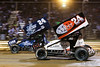 Pennsylvania Sprint Car Speedweek - Lincoln Speedway - 24R Rico Abreu, 24 Lucas Wolfe