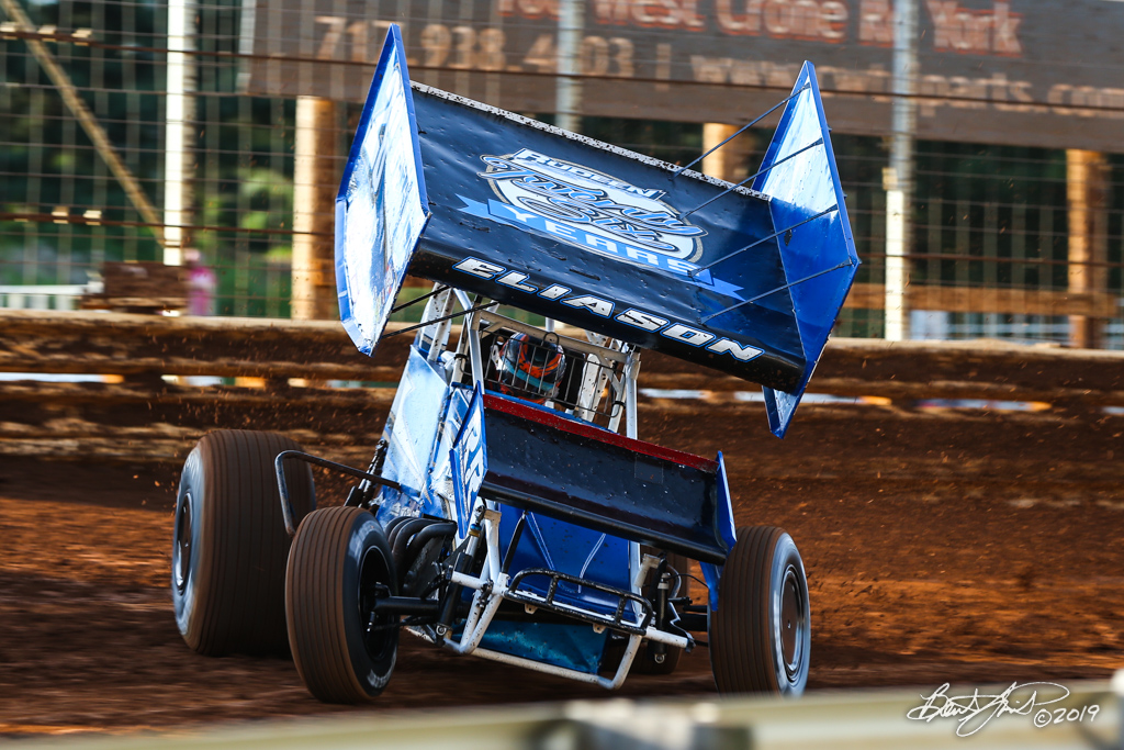 Pennsylvania Sprint Car Speedweek - Lincoln Speedway - 26 Cory Eliason