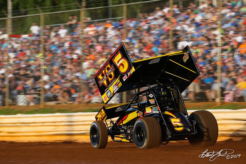 Pennsylvania Sprint Car Speedweek - Lincoln Speedway - 5 Dylan Cisney