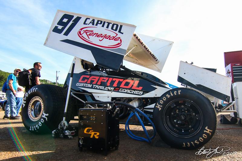 Pennsylvania Sprint Car Speedweek - Lincoln Speedway - 91 Kyle Reinhardt
